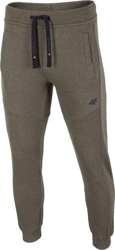 4f Spodnie męskie H4L19-SPMD002 khaki r. S
