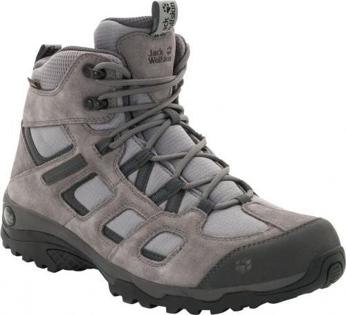 Jack Wolfskin Buty męskie Vojo Hike 2 Texapore Mid M Tarmac Grey r. 40.5 (4032371-6011)