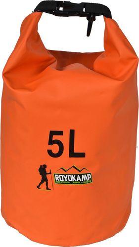 Royokamp  Worek Wodoszczelny Pomarańczowy 5 L