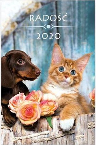 Edycja Świętego Pawła Kalendarz 2020 kieszonkowy Radość: Zwierzaki
