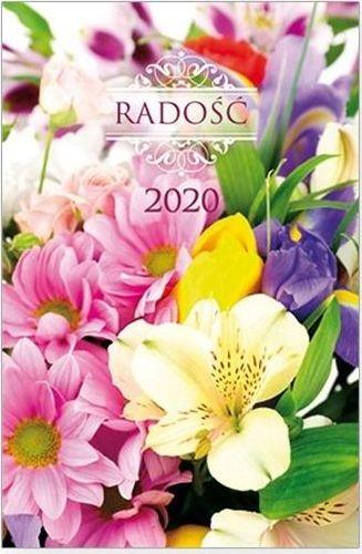 Edycja Świętego Pawła Kalendarz 2020 kieszonkowy Radość: Kwiaty