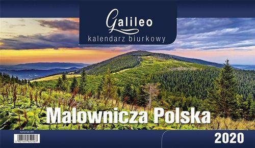 CRUX Kalendarz 2020 Biurkowy Galileo Malownicza Polska