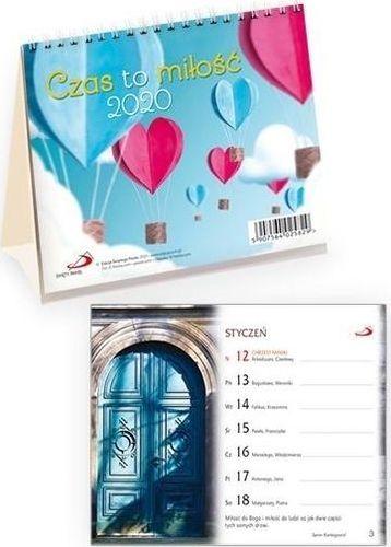 Edycja Świętego Pawła Kalendarz 2020 na biurko - Czas na miłość