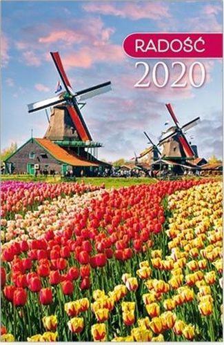 Edycja Świętego Pawła Kalendarz 2020 kieszonkowy Radość: Wiatraki