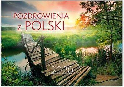 Edycja Świętego Pawła Kalendarz 2020 Ścienny - Pozdrowienia z Polski