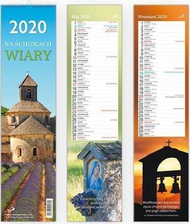Edycja Świętego Pawła Kalendarz 2020 Ścienny - Na ścieżkach wiary