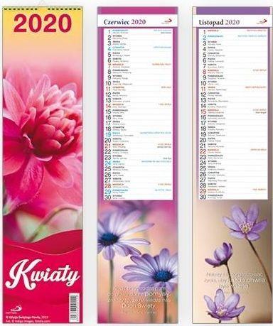 Edycja Świętego Pawła Kalendarz 2020 Ścienny - Kwiaty