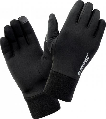 Hi-tec Rękawice do biegania Janni black r. L/XL