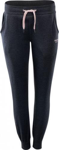 Hi-Tec Spodnie damskie Lady Melian Dark Grey Melange/Impatiens Pink r. S