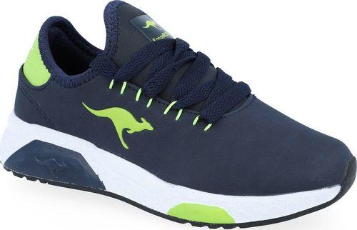Kangaroos Sneakersy chłopięce KangaROOS 18225 granatowy 35