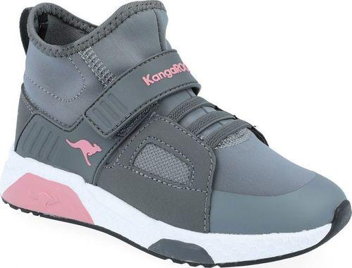 Kangaroos Sneakersy dziewczęce KangaROOS 18220 szary 34