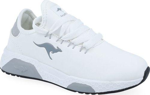 Kangaroos Sneakersy dziewczęce KangaROOS 18225 biały 33