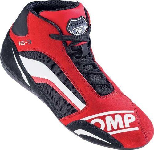 OMP Racing Buty kartingowe OMP KS-3 MY19 czerwone 47