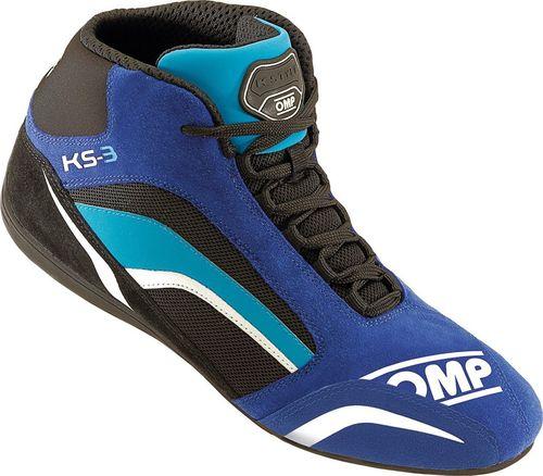 OMP Racing Buty OMP KS-3 niebiesko - czarne 43