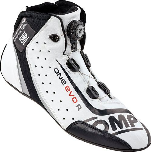 OMP Racing Buty OMP ONE EVO Formula R białe (homologacja FIA) 45