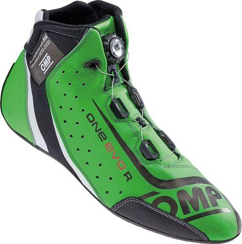 OMP Racing Buty OMP ONE EVO Formula R zielone (homologacja FIA) 45