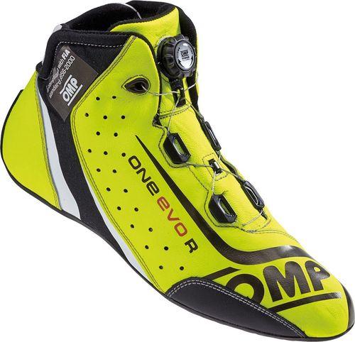 OMP Racing Buty OMP ONE EVO Formula R żółte (homologacja FIA) 44