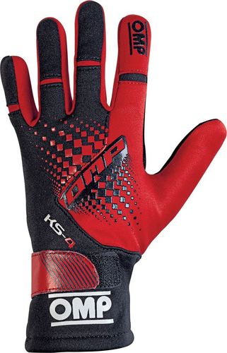 OMP Racing Rękawice OMP KS-4 MY18 czerwone 4