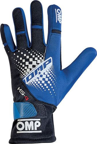 OMP Racing Rękawice OMP KS-4 MY18 niebieskie XXS