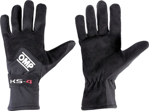 OMP Racing Rękawice OMP KS-4 czarne 4