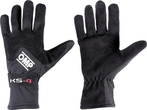 OMP Racing Rękawice OMP KS-4 czarne XXS