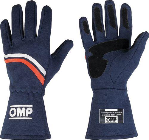 OMP Racing Rękawice rajdowe OMP DIJON granatowe (homologacja FIA) XL