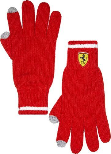 Scuderia Ferrari F1 Team Rękawiczki zimowe Knitted czerwone Scuderia Ferrari F1 Team uniwersalny