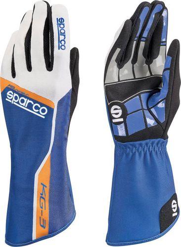 Sparco Rękawice Sparco Track KG-3 niebieskie 13
