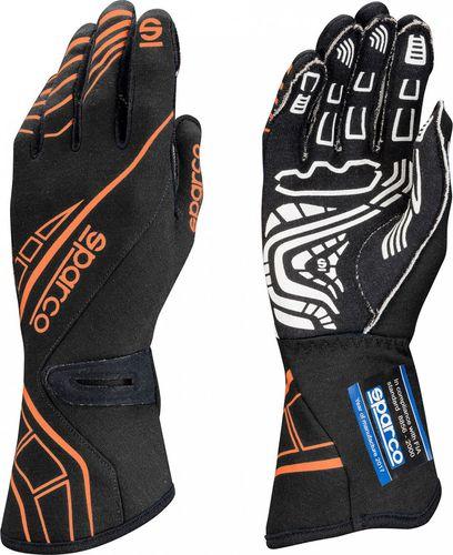 Sparco Rękawice rajdowe Sparco LAP RG-5 Black/Orange (homologacja FIA) 8