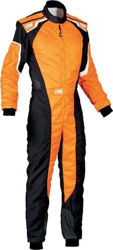 OMP Racing Kombinezon dziecięcy OMP KS-3 MY19 pomarańczowy (Homologacja CIK FIA) 160