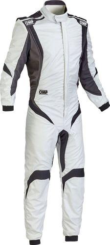 OMP Racing Kombinezon OMP ONE S-1 srebrno/czarny (homologacja FIA) 48