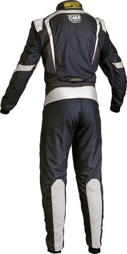 OMP Racing Kombinezon OMP ONE S-1 czarno/srebrny (homologacja FIA) 48
