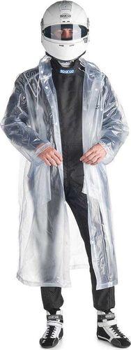 Sparco Płaszcz przeciwdeszczowy z kapturem Sparco S/M
