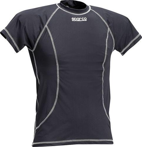 Sparco T-shirt Sparco Basic czarny XL