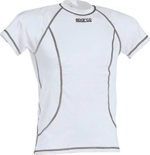 Sparco T-shirt Sparco Basic biały L