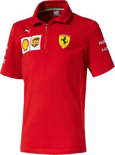 Scuderia Ferrari F1 Team Koszulka chłopięca czerwona r. 152 cm