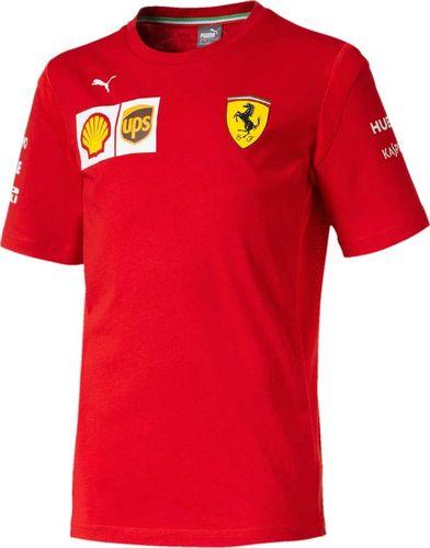 Scuderia Ferrari F1 Team Koszulka chłopięca czerwona r. 116 cm