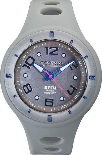 Zegarek Sparco Zegarek SPARCO męski, sportowy, szary uniwersalny