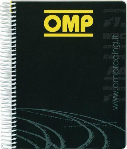 OMP Racing Notatnik pilota OMP duży uniwersalny