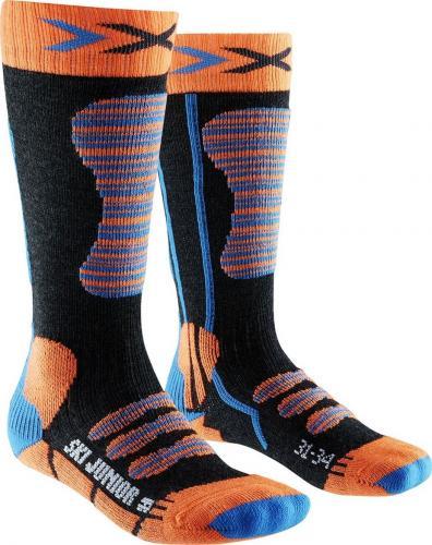 X-Socks Skarpety Ski Junior czarne r. 24-26 (X100097)