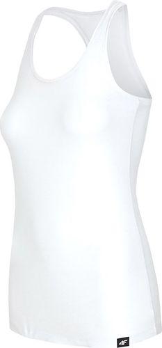 4f Koszulka damska H4L19-TSD001 biała r. L