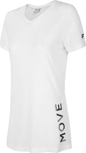 4f Koszulka damska H4Z19-TSD005 biała r. XL
