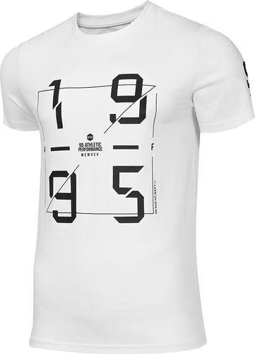 4f Koszulka męska H4Z19-TSM073 biała r. XXL