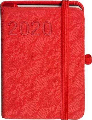 ANTRA Kalendarz książkowy 2020 Awangarda A7 Czerwony