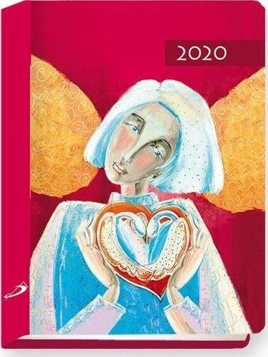 Edycja Świętego Pawła Terminarz 2020 B7 Kolorowy anioł