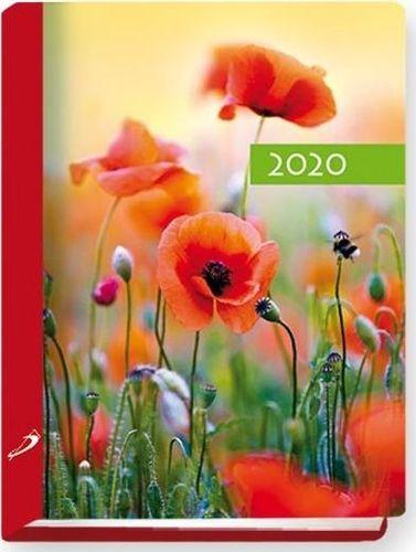 Edycja Świętego Pawła Terminarz 2020 B7 Kolorowy mak