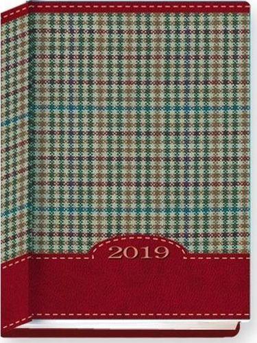 Edycja Świętego Pawła Terminarz 2020 B7 Kolorowy kratka czerwona