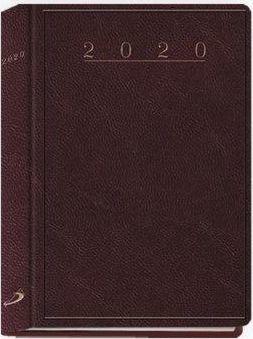 Edycja Świętego Pawła Terminarz 2020 B7 Caribe bordowy