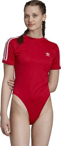 Adidas Body damskie Ss Body czerwone r. 32 (ED7506)