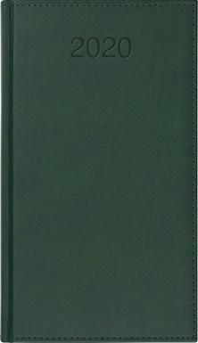 CRUX Kalendarz 2020 Książkowy A6 tygodn. Vivo zielony